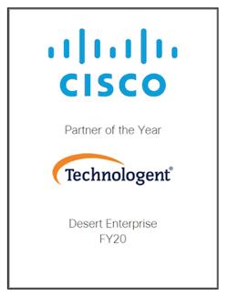Technologent - Cisco Partner Award